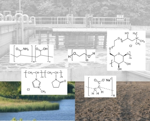 Environemtal fate and effects of water-soluble polymers